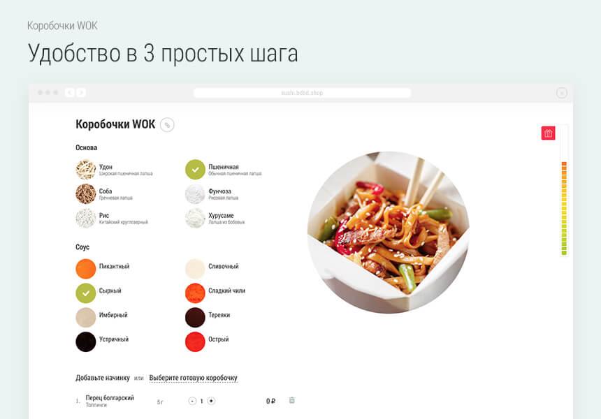 Сайт доставки еды на битрикс корпоративный портал битрикс