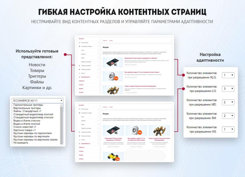 135b18f9d27a BXReady: Флагман. Универсальный интернет-магазин, шаблон сайта на 1С ...
